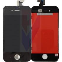 APPLE IPHONE 4 DISPLAY LCD TOUCH VETRO NERO GRADO AAA
