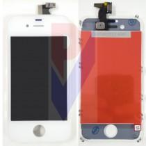 APPLE IPHONE 4 DISPLAY LCD TOUCH VETRO BIANCO GRADO AAA
