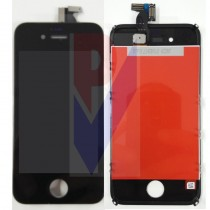 APPLE IPHONE 4S DISPLAY LCD TOUCH VETRO NERO GRADO AAA