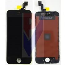 APPLE IPHONE 5S DISPLAY LCD TOUCH VETRO NERO GRADO AAA
