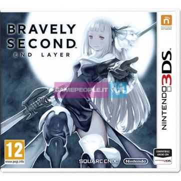 NINTENDO 3DS BRAVELY SECOND END LAYER VIDEOGAME