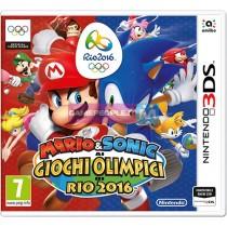 NINTENDO 3DS MARIO & SONIC AI GIOCHI OLIMPICI DI RIO VIDEOGAME