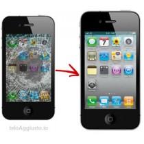 Sostituzione riparazione cambio display + touch screen per apple iphone 4 4G