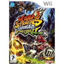 NINTENDO WII MARIO STRIKERS CHARGED FOOTBALL VIDEOGAME