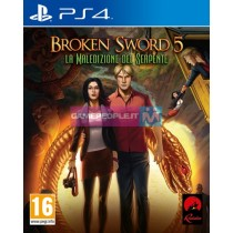 PS4 BROKEN SWORD 5: MALEDIZIONE DEL SERPENTE VIDEOGAME