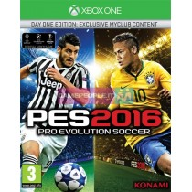 XBOX ONE PRO EVOLUTION SOCCER 2016 PES 2016 VIDEOGAMES