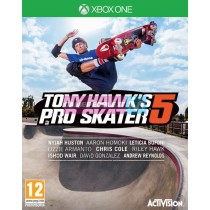 XBOX ONE TONY HAWK'S PRO SKATER 5 VIDEOGAME