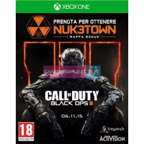 XBOX ONE CALL OF DUTY BLACK OPS III VIDEOGAME
